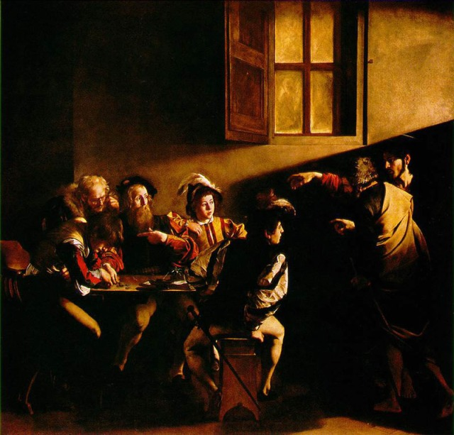The Calling of St. Matthew' (c. 1600)