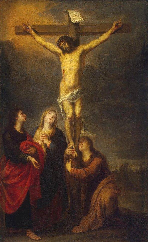 Crucifixion, Bartolome Murillo