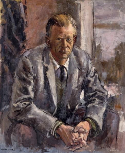 Archibald_1963~M.tif *** Local Caption *** Archibald Portrait Prize winner.