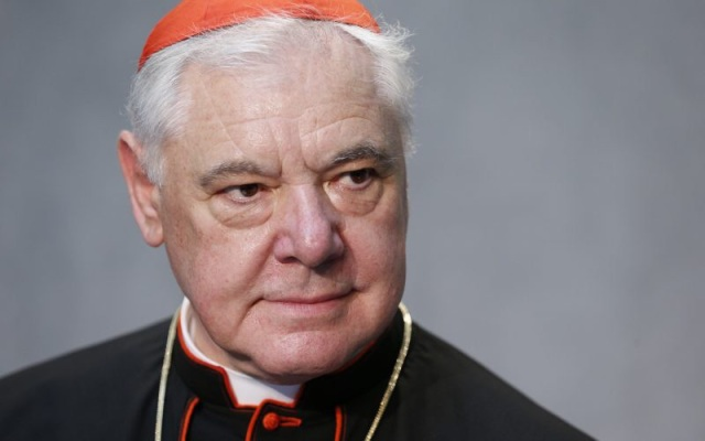Cardinal Gerhard Müller, prefect of the Congregation for the Doctrine of the Faith (CNS)