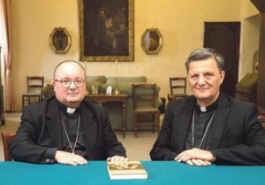 Archbishop Charles Scicluna (left) and Gozo Bishop Mario Grech published their guidelines earlier this month following Pope Francis's post-Synodal apostolic exhortation Amoris Laetitia issued last year.