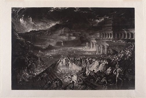 The Fall of Ninevah by John Martin
