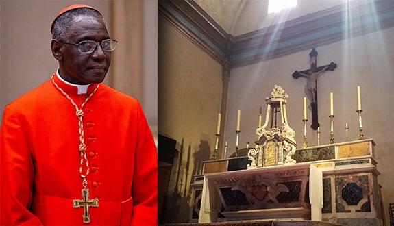 """Résultat de recherche d'images pour """"illustration du cardinal sarah"""""""