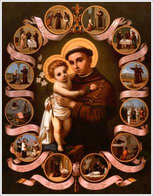 Image result for st anthony of padua images