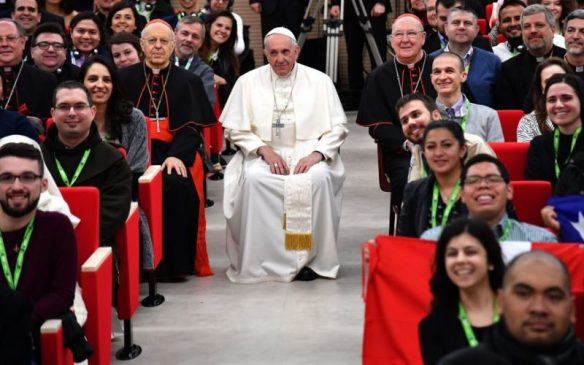 Papa Francisco en la presentación de la 'Episcopalis communio'
