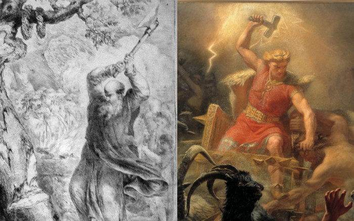Thor, St. Boniface, And The Origin Of The Christmas Tree