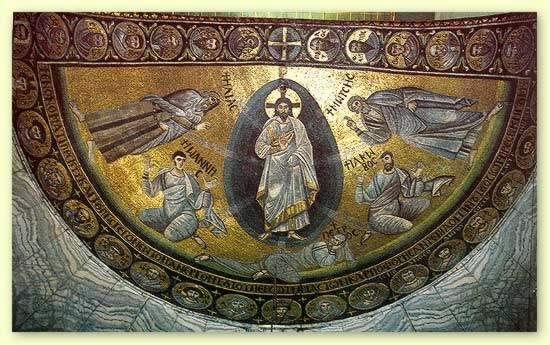 Image result for transfiguration painting raphael